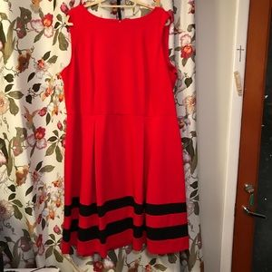 Holiday Red Dress Calvin Klein Size 20W